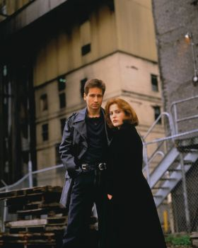 A shot from one of my all-time favourite X-Files photoshoots