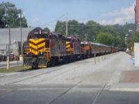 Great Smokey Mountain Diesel Locomotives