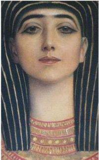 Gustav Klimt - Isis, Ancient Egypt (detail), 1891