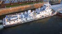 Coral Dawn - Mississippi River Towboat - Keokuk, IA (2021-08-06)