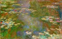 Claude Monet - Water Lily Pond (1918c) (Apr17P31)