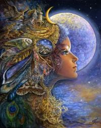 Diana by Josephine Wall