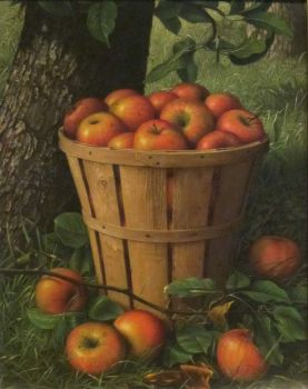 Basket of Apples by Levi Wells Prentice