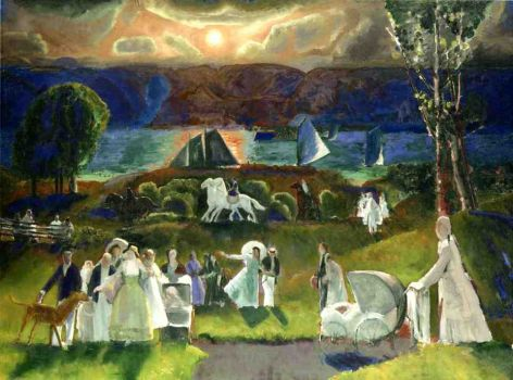 Summer Fantasy by George Bellows