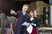 Peter Capaldi and Jenna Louise Coleman on Doctor Who