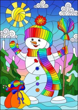 HAPPY THE SNOWMAN