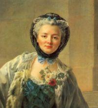 Madame Drouais by Francois Hubert Drouais circa 1758