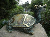 Longgui statue, Hamilton Gardens, New Zealand