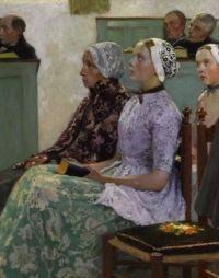 """Ladies in Church"""