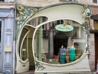 Art Nouveau shopfront in Douai, France