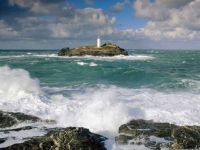 Godrevy_Lighthouse_and_Rough_Seas_Cornwall_England