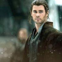 "Hemsworth as ""The Huntsman"", 2"
