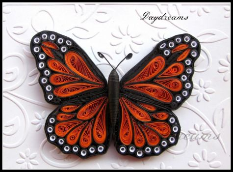 Paper Quilled Beautiful Butterfly