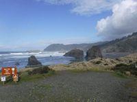 Myers Creek State park, southern Oregon coast