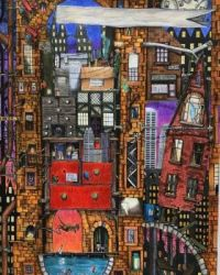 fantastic city scapes-