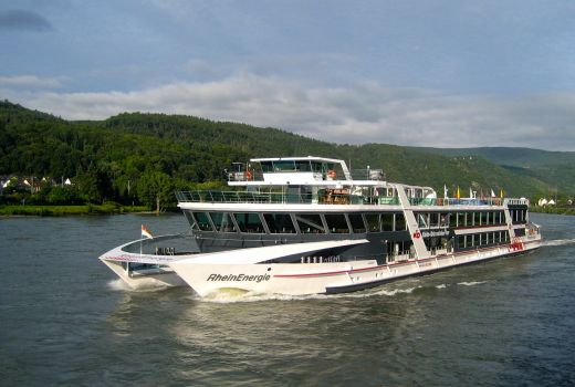 Cruising on the Rhine