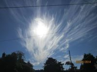 Beautiful cloud formation
