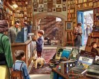 Cozy book shop