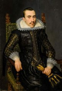 Portrait of a man, possibly Walterus Fourmenois (1596-1653)