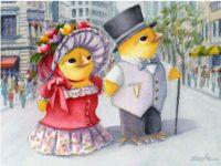Easter Parade - Ferdinand and Nina