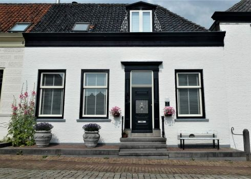 One of the 'white houses' of Geervliet