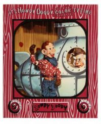 IT'S HOWDY DOODY COLOR TV TIME PICTURE SET