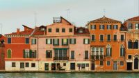 Venice after sunset