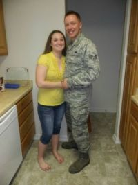 Me and My Airman :)