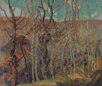 Silvery Tangle, by Franklin Carmichael