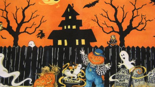 Halloween scene | 220 pieces jigsaw puzzle
