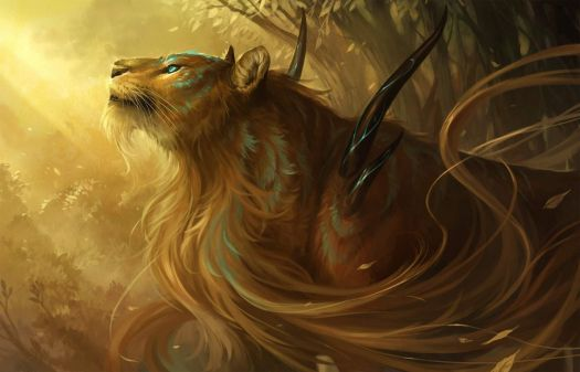 magical lioness
