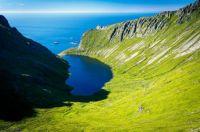Stokkvikvatnet, Lofoten Islands, Norway