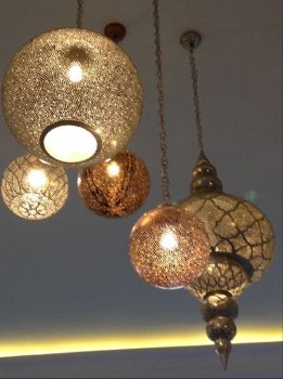 Iberostar hotel Marrakesh lighting
