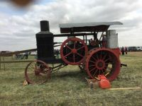 An Old Hart Parr tractor