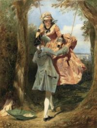 Edward Henry Corbould (British, 1815–1906), The Swing (1848)