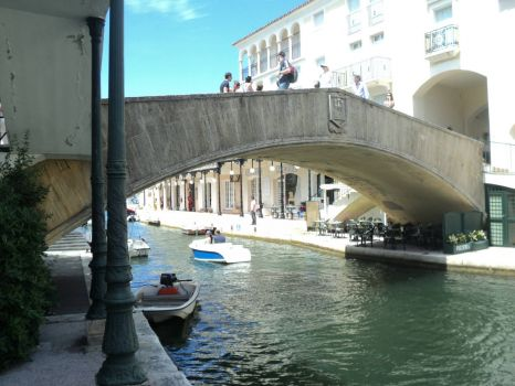 Bridge in Port Grimaud