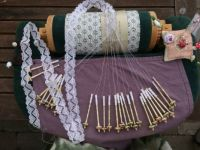 Danish bobbinlace pillow
