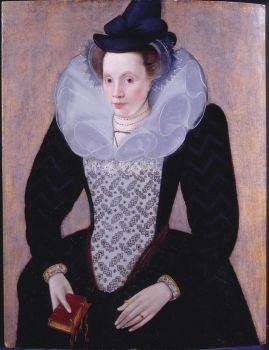 circa 1592 Portrait of an Unknown Lady attributed to Robert Peake the Elder