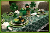 Saint Patrick's Day Table