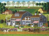 Prairie Wind Flowers by Charles Wysocki