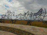 Indian Memorial at Little Bighorn Battlefield