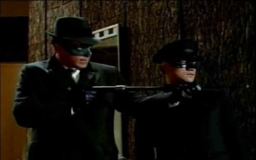 Van Williams & Bruce Lee as Green Hornet & Kato