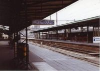 Luxembourg City Railroad Station