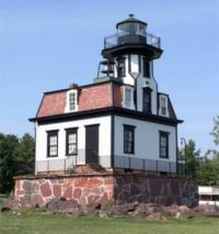 Colchester Reef Lighthouse, Lake Champlain, Vermont
