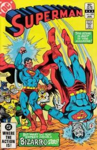 Superman Versus Bizarro