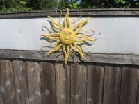 THE SUN - OUTDOOR FENCE ART BY BUBBLE