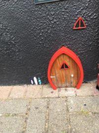 Fairy door in Clifden, Ireland