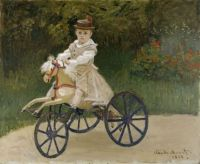 Claude Monet - Jean Monet on His Hobby Horse, 1872 (May17P15)