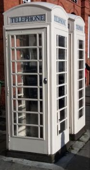 Telephone boxes in and around Hull