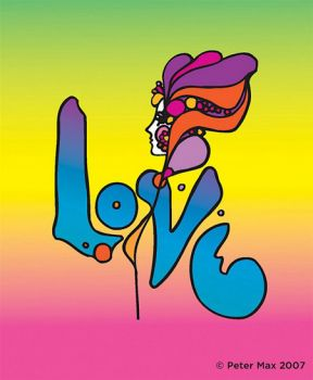 Peter Max Love Art